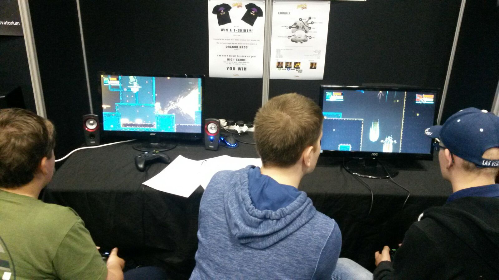 Some absorbed players